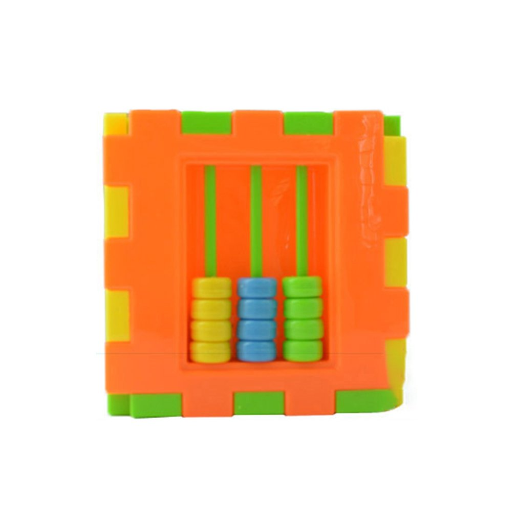 Baby Multi Shape Sorter Intelligence Box Cognitive Match Building Blocks Activity Cube Early Educational Toys For Children Giftpicture 5