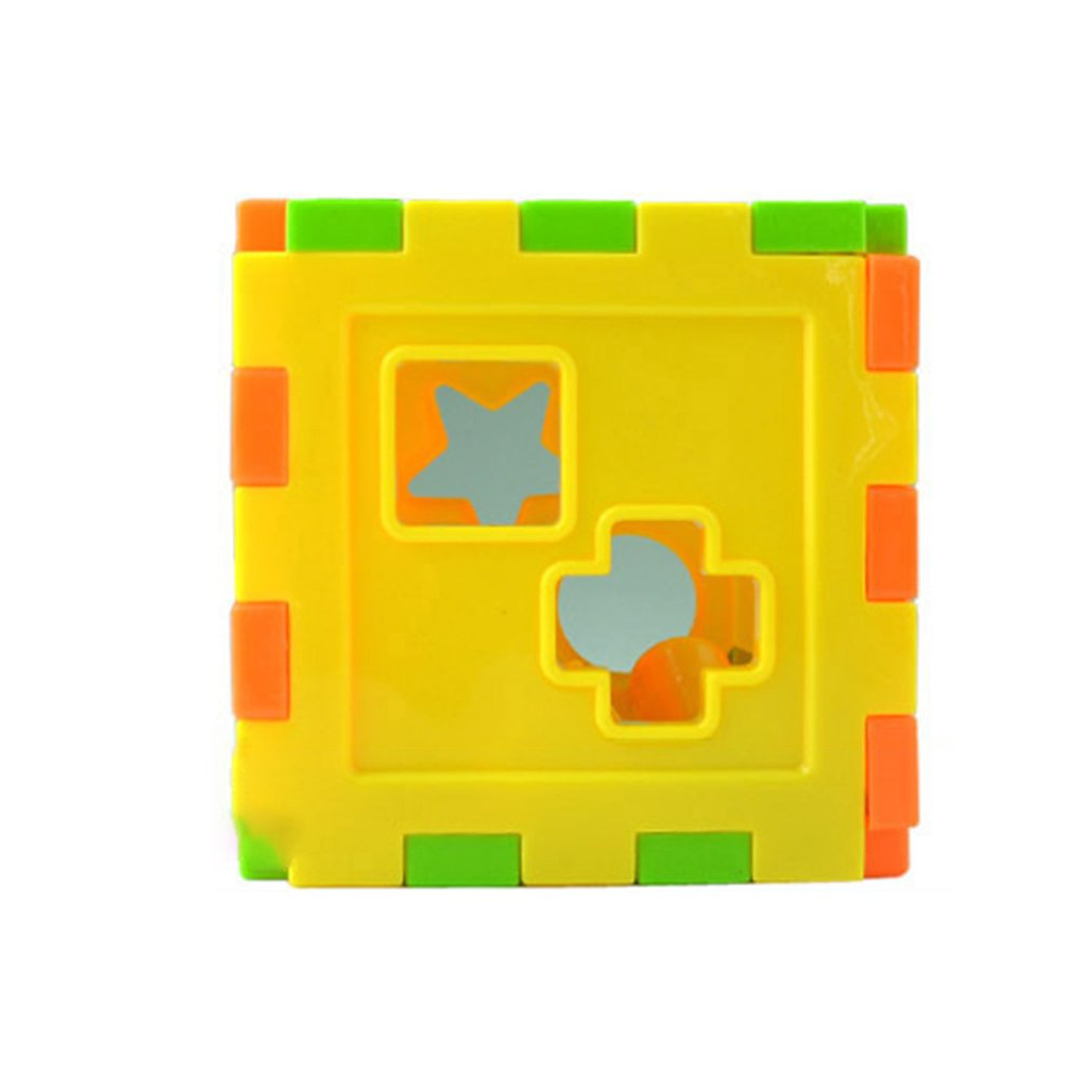 Baby Multi Shape Sorter Intelligence Box Cognitive Match Building Blocks Activity Cube Early Educational Toys For Children Giftpicture 6