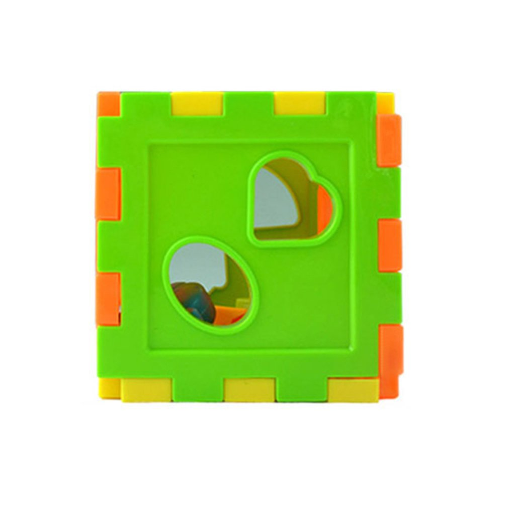 Baby Multi Shape Sorter Intelligence Box Cognitive Match Building Blocks Activity Cube Early Educational Toys For Children Giftpicture 7
