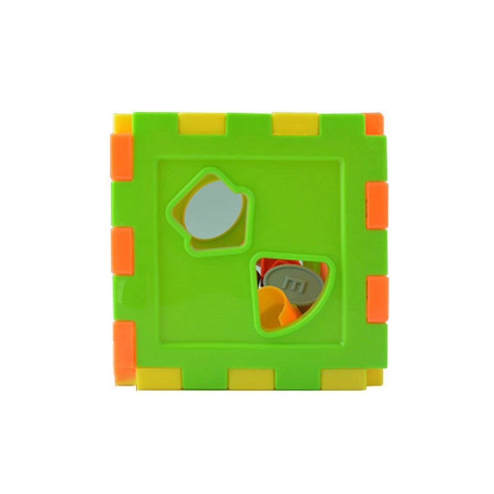 Baby Multi Shape Sorter Intelligence Box Cognitive Match Building Blocks Activity Cube Early Educational Toys For Children Giftpicture 10