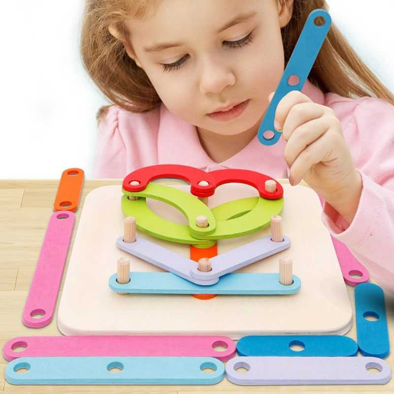 Wooden Letter Number Sorter Puzzle Educational Stacking Blocks Toy Shape Color Construction Sorter Activity Boardpicture 9