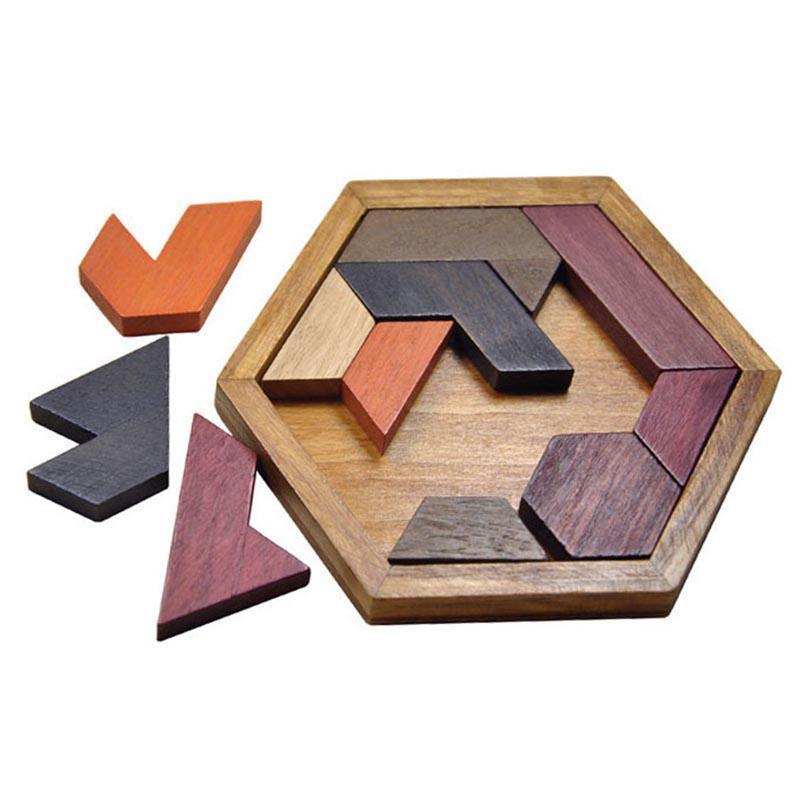 Wooden Puzzles Jigsaw Board Geometric Shape Toys. Child Educational Brain Teaser. Non Toxic Wood Children Kids Gift Present.picture 7
