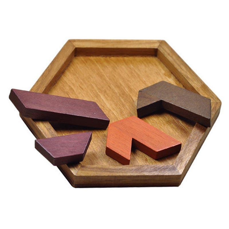 Wooden Puzzles Jigsaw Board Geometric Shape Toys. Child Educational Brain Teaser. Non Toxic Wood Children Kids Gift Present.picture 8