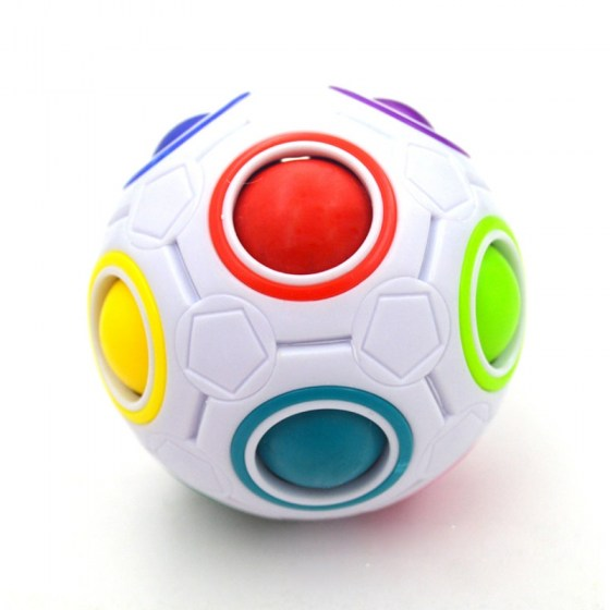 Creative Kids Rainbow Ball. Educational Learning Toys for Children.