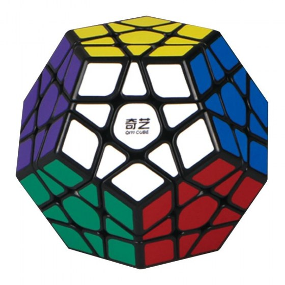 LeadingStar 3rd order Megaminx Magic Cube Stickerless Dodecahedron Speed Cubes Brain Teaser Twist Puzzle Toy