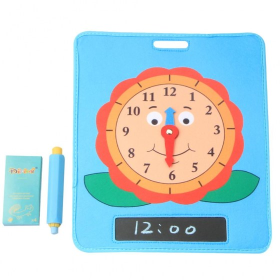 Baby Model Teaching Baby Born Intelligence Toys High Quality Gifts Learn Time Clock Early Education Toys For Children