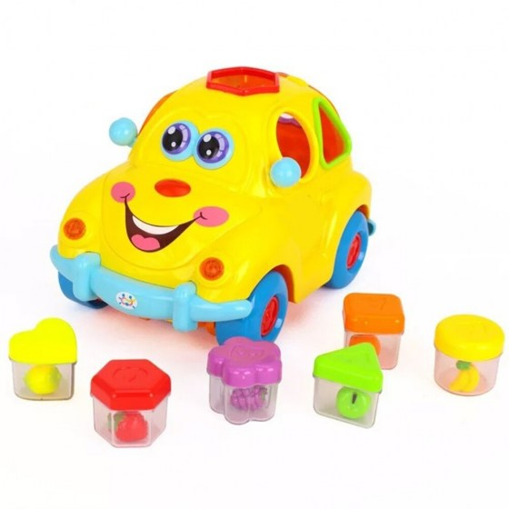 Children'S Toys Electric Musical Car Toy With Lights And Sounds Fruit Shape Sorters Activity Early Educational Toy For Kids #30