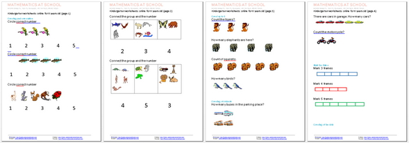 Number Names Worksheets » Kindergarten Computer Worksheets - Free ...