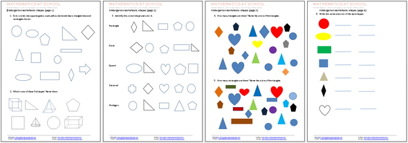 kindergarten worksheets and printables free pdf worksheets shapes numbers counting. Black Bedroom Furniture Sets. Home Design Ideas