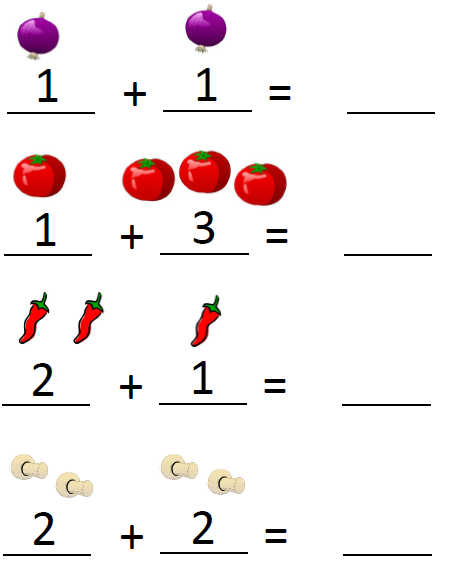 Pre-kindergarten addition and subtraction worksheets ...