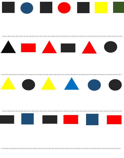 pre k worksheets patterns. Black Bedroom Furniture Sets. Home Design Ideas