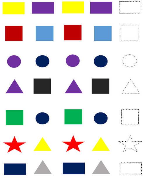 Prek Worksheets Patterns. Worksheet. Math Pattern Worksheets For Pre K At Clickcart.co