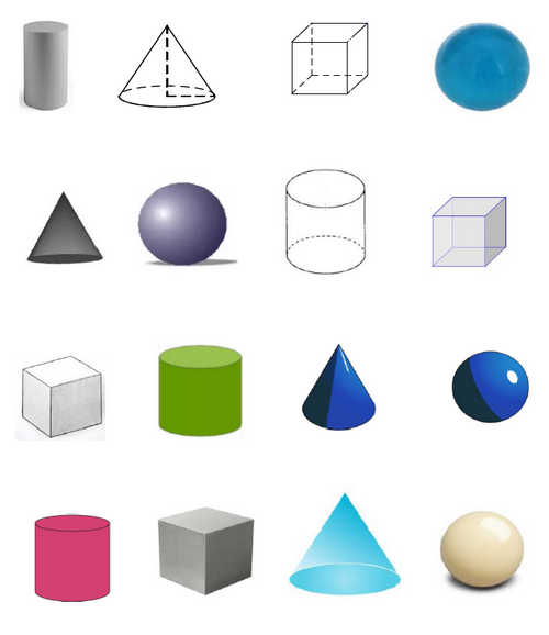 Solid shapes