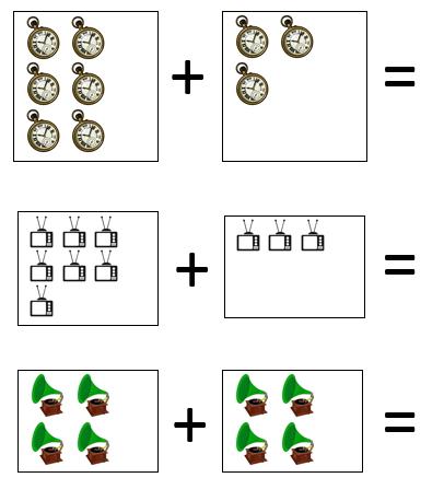 math worksheet : addition sentence worksheets for kindergarten  picture addition  : Addition Sentence Worksheets