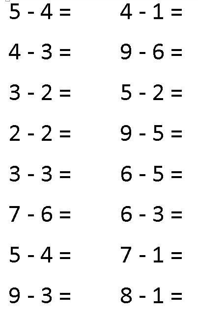 math worksheet : subtraction worksheets subtraction worksheets pre k ...