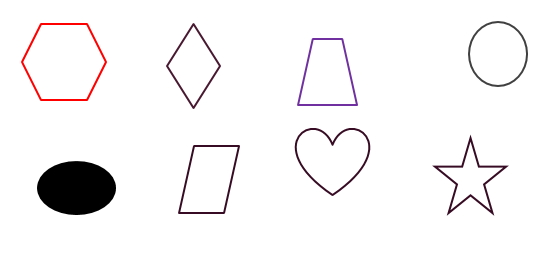 Shapes Worksheets For Prekindergarten. Free Printable Pdf