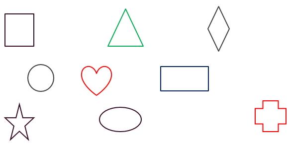 Shapes Worksheets For Prekindergarten. Free Printable Pdf