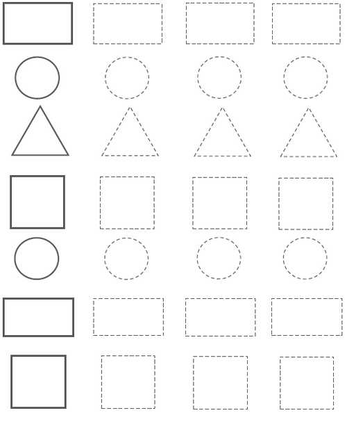 preschool shapes worksheets circle rectangle triangle square. Black Bedroom Furniture Sets. Home Design Ideas